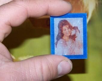 Vintage Risque Red Head Flicker Card