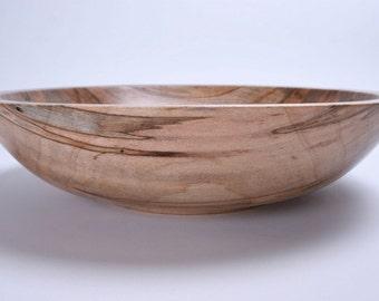 Wormy Ambrosia Maple Wooden Bowl 1310