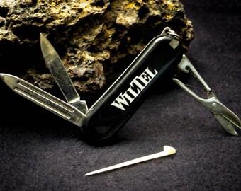 1990 WilTel Communications Pocket Knife