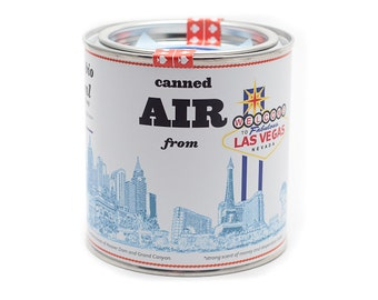 Original Canned Air From Las Vegas, Nevada, USA, gag gift, souvenir, memorabilia