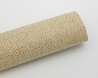 Book Cloth Swatch - Natural Linen - Asahi Book Cloth
