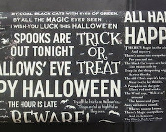 Witch Hazel Halloween Fabric