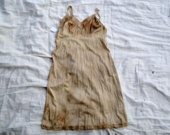Vintage Slip Dress Lengthener Magnolia Mori Prairie Pearl Lagen