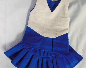 Cheerleader Pattern for  18 inch dolls like American Girl