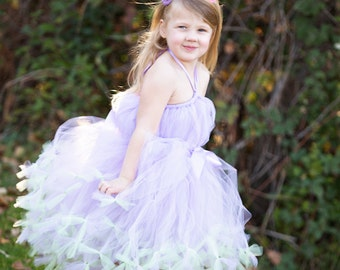 Easter Tutu Dress by Atutudes - girl's 1st birthday party dress