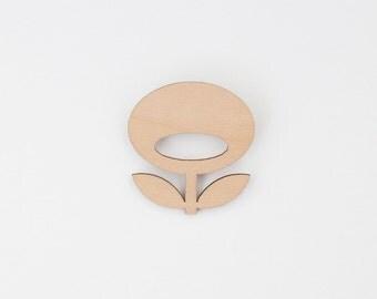SNUG.FLOWER  brooch / rose