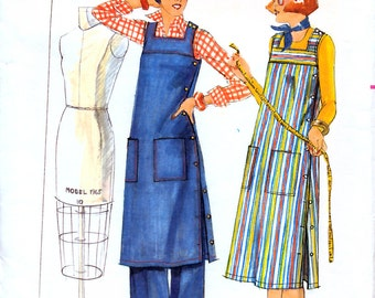 Butterick 4915 Vintage 70s Misses' Dress, Tunic and Pants Sewing Pattern - Uncut - Size 8