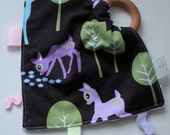 Baby Deer Teething Taggie - Perfect Baby Shower Gift!