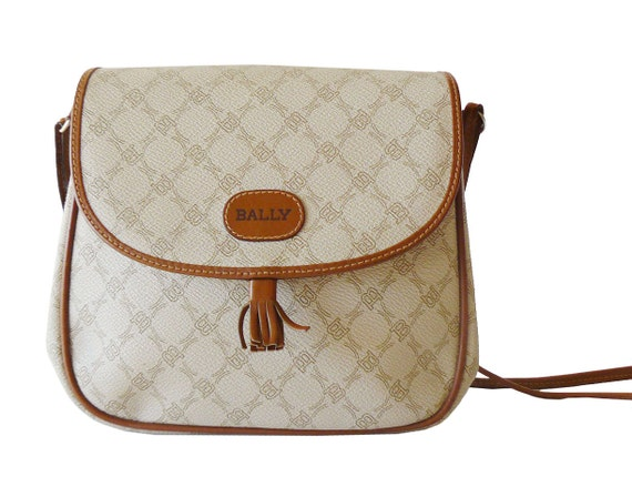 Reserved / Authentic Bally Signature Crossbody Shoulder Bag Made in Italy