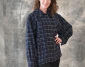 80s Yves Saint Laurent Wool Jacket