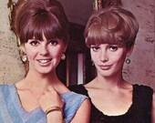 Ladies' 1960s Paillette Shells -- Tank Tops -- PDF  PATTERNS - Crochet & Knit