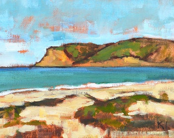 Coronado Beach - San Diego Landscape Painting
