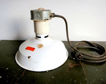 Antique Gas Station Light Fixture