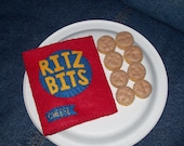 Felt Mini Cheese Crackers