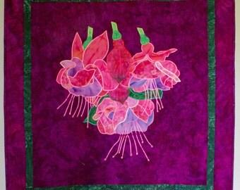 Fabulous Fuchsias Wallhanging