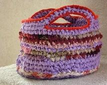 Unique rag crochet basket related items Etsy