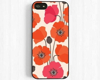 Poppy Flower iPhone 7 6 Case - Samsung Galaxy s3 s4 s5, Note 3 Case, iPhone 6 plus 5s 5c 5 4s Case Colorful Spring Flower Easter UL45