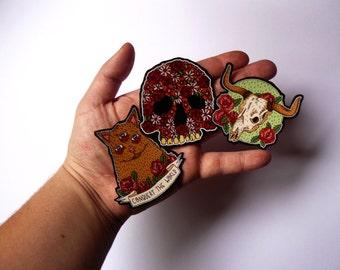 Stickers Skull // Animal / Flower