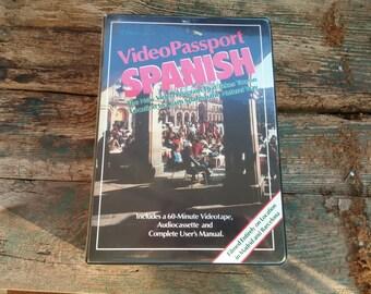 On Sale Video Passport Spanish Video Cassette, Audio, User's Manual  Online Vintage, vintage clothing, home accents, vintage dress