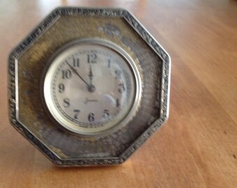 Vintage Metal Sessions Clock