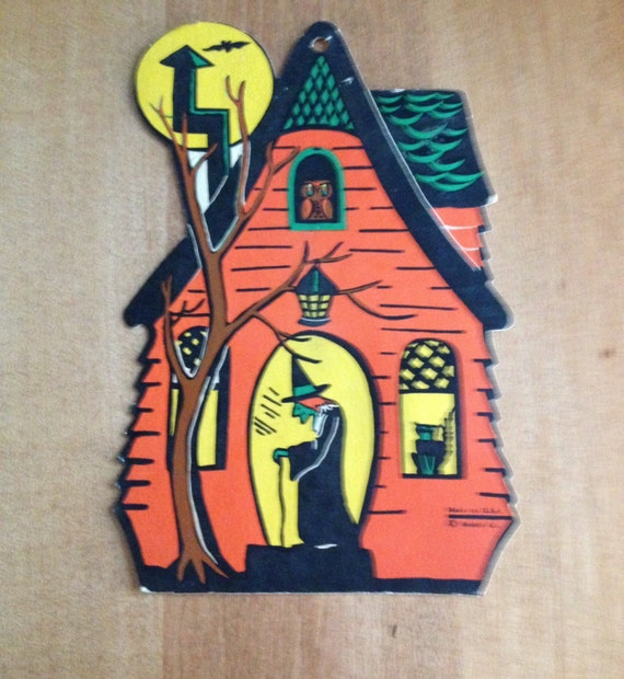 Vintage Witch Halloween Decoration Haunted House Halloween Home Decor Spooky