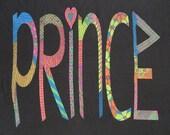 PRINCE 1988 tour T SHIRT BURNOUT