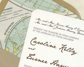 Caroline and Turner Wedding Invitation Set