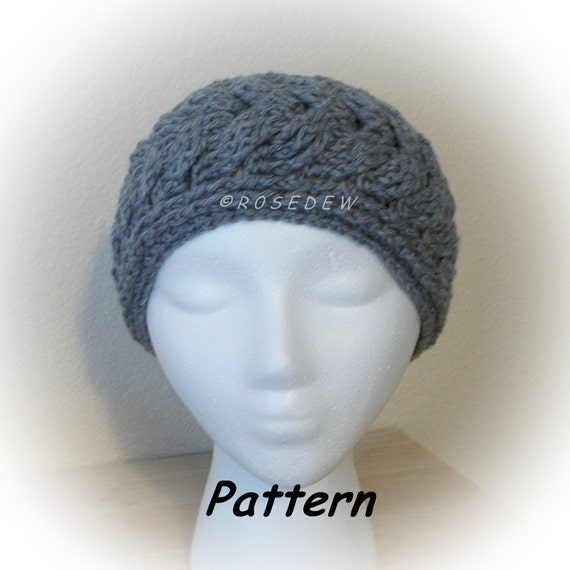 Instant Download to PDF CROCHET Pattern: Staghorn Cable Headband