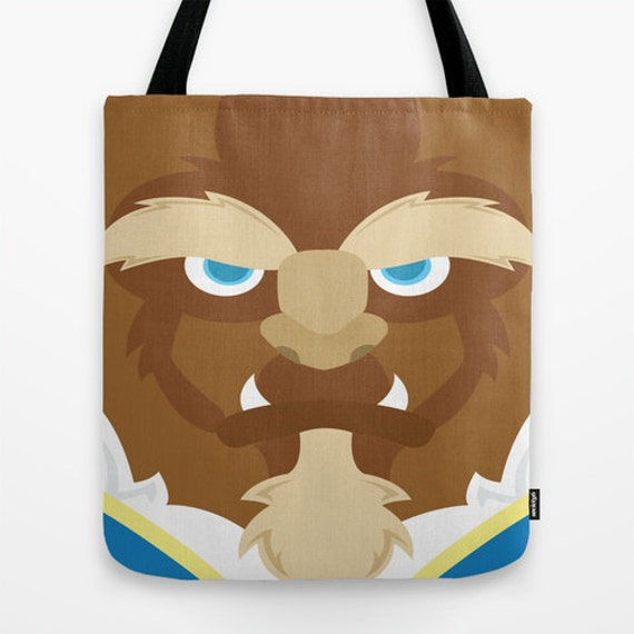 Beauty and the Beast, tote bag, bag, shoulder bag