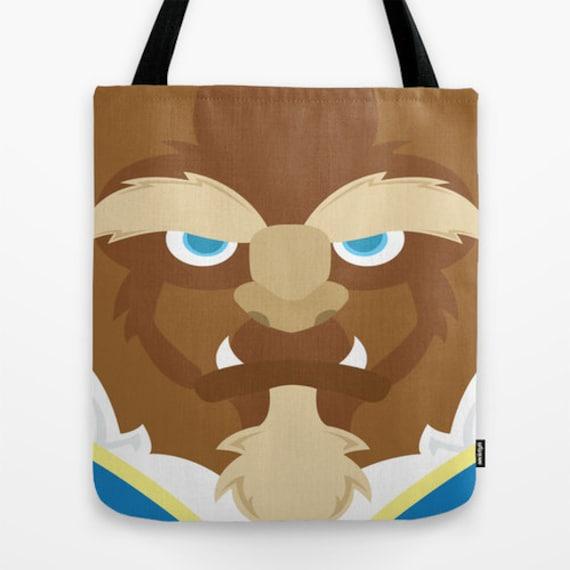 Beauty and the Beast, tote bag, bag, shoulder bag
