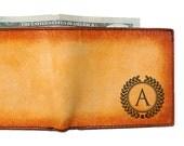 Monogrammed Wallet - Custom Wallet - Groomsmen Gift