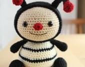 Amigurumi Crochet Pattern - Dottie the Ladybug