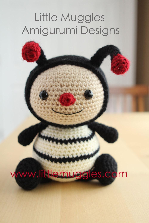 Amigurumi Eyes Australia : Amigurumi Crochet Pattern - Dottie the Ladybug from ...