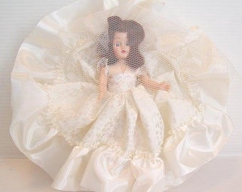 Vintage Bride Doll- Mid Century Collectible-Bridal-Auburn Hair- Dolls of All Lands