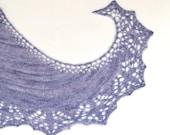"Shawlette pattern ""Lidiya"". Hand Knitted Lace Shawl, Shawlette, Scarf. Original Design. PDF downloadable pattern. LaceKnit design"