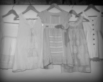 Flower Girl Dress PREVIEW - FEATURED LISTING - Flower Girl Lace Dress