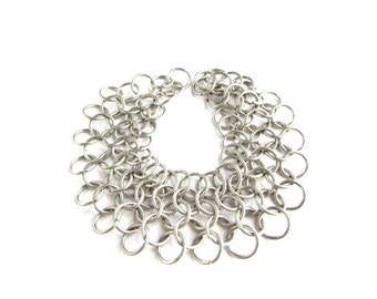 Chain Mail Connector chain/ Chain Mail Bracelet
