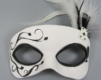 Deck of Cards Club Masquerade Mask