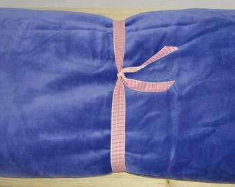 """WASHABLE Heated BLANKET Heat Pack 44""""x18"""" Large Microwave Heating Pad Heat Therapy Rice Bag Hot Cold Body Wraps Yoga Gift Unscented Lavender"""