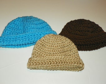 Baby Hat Sets Sizes Preemie-24 Months  Perfect for a Baby Gift.