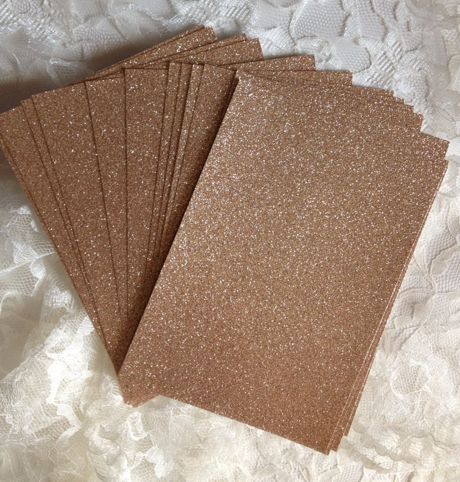 Gold color cardstock paper 5x7 - Diy Glitter Cardstock 5x7 For Wedding Or Quince Invitations Table Numbers Menus Programs Scrapbooking Cardmaking