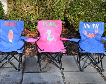 Personalized Child's Beach Chair/Camp Chair