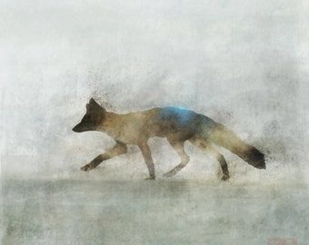 Fox Hunt 04: Giclee Fine Art Print 13X19