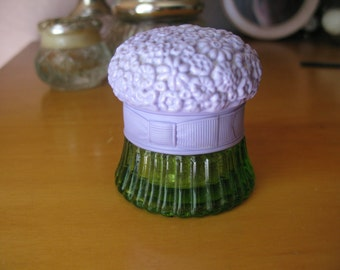 Vintage Avon Field Flowers 1970's Perfume Bottle, Cream Sachet, Collectable Boudoir