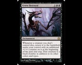 Magic the Gathering Artist Proof: Grave Betrayal,Return to Ravnica