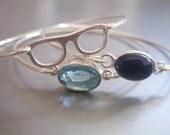EYE GLASSES bangle bracelet