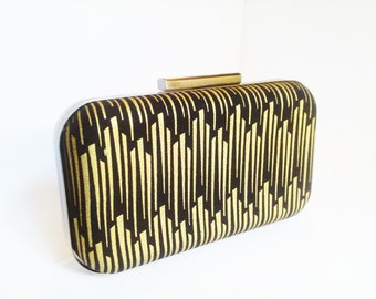 art deco clutch, art deco wedding, bridal accessories, bridesmaid clutch, box clutch, minaudiere, bridesmaid gift, bridal, hollywood regency