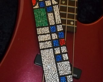 You May Be Wright guitar strap
