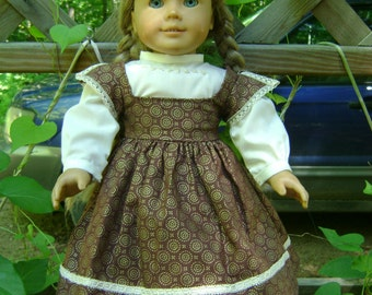 1860 era dress and gimpe