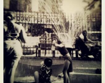 Photography, new york, black and white, art, print